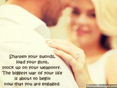 Engagement Wishes Quotes. QuotesGram