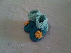 #zapato #tejido #crochet #bebe