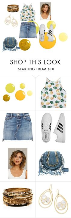 """Untitled #393"" by bre-fab ❤ liked on Polyvore featuring Frame, adidas, Amrita Singh and Ippolita"