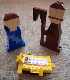 Lego nativity for the boys to make