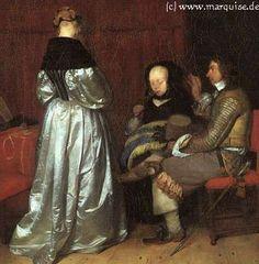 Paternal Advice, 1655  Gerard ter Borch