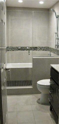 Bath Tub in Shower / Wet Room Bathroom Remodel