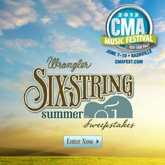 Win a trip for 2 to the CMA Music Festival in Nashville