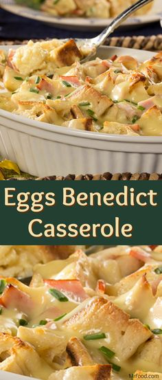 This Eggs Benedict Casserole recipe will transform your Mother's Day brunch ideas. It's a make-ahead take on the classic eggs benedict recipe that will impress everyone. From the moment it's set on the table, to the moment they clear their plates, they'll be showering you with compliments! Don't be afraid to share this easy eggs benedict recipe with friends -- everyone will want to try it!