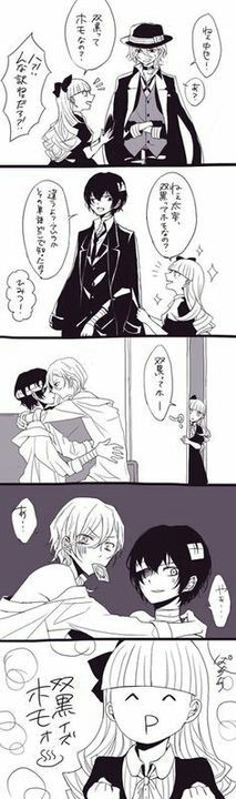 Imágenes Y Doujinshi de Soukoku (Dazai y Chuuya)?? - 7
