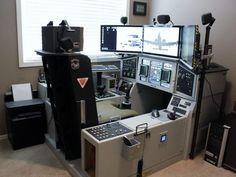 Grimreapers83 Homebuilt cockpit : December 2013
