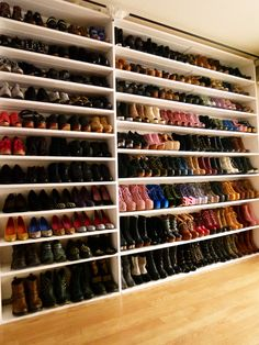 which am i more jealous of...the shoes or the closet?
