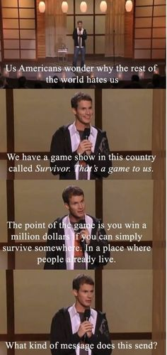 "Daniel Tosh ""Completely Serious"". Probably his funniest special"