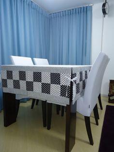 Toalha de mesa de patchwork