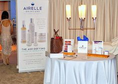 Beauty Sponsor Airelle Skincare at the Destination Style Penthouse by StyleshopUSA Celebrities received mini-facials and makoevers with Elain Cosmetics for the Red Carpet. Makeup by Rikki Ronnae