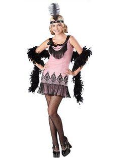 Flirty Flapper Teen Costume « Blast Gifts