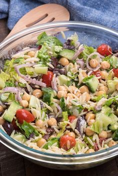 Greek Pasta Salad |