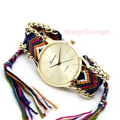 Friendship bracelet watch (5 colors) – Imsmistyle.