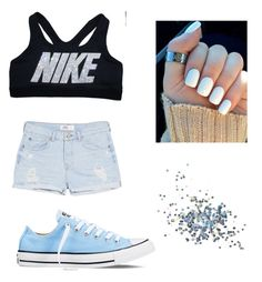 """NIKE💍"" by zendaya-superstar ❤ liked on Polyvore featuring MANGO, Converse and Topshop"