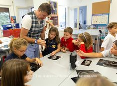 TASIS third grade students got a chance to study x-rays of mammals today in their science class.