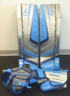 Hockey Goalie Equipment, Hockey Gear, Ice Hockey, Hockey Pads, Goalie Gloves, Science Fiction, Warriors, Cool Stuff, Sports
