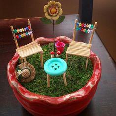 Miniature Garden Furniture ~ Fairy Garden Furniture ~ DIY