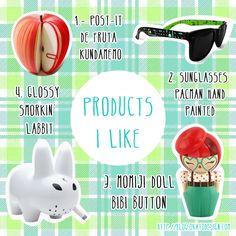 Okato World: Products I Like III