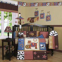 Geenny Boutique Horse Cowboy 13 Piece Crib Bedding Set & Reviews | Wayfair