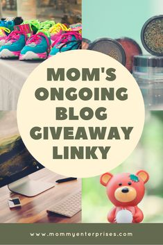 Mom's Ongoing Blog Giveaway Linky   Looking to enter some giveaways online? Below you will find Mom's Ongoing Giveaway Linky is where you can find giveaways to enter and also add your own!  #giveaways  #bloggiveaways  #contest