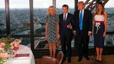 """Trump News-Blog: """"So gut gehalten"""": Trump blamiert sich bei Besuch in Frankreich - Politik - Aktuelle Politik-Nachrichten - Augsburger Allgemeine"""