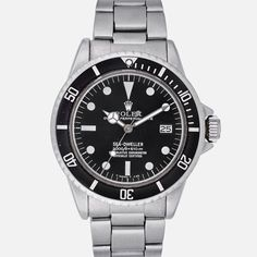 1978 Rolex Sea-Dweller Reference 1665 With Box And Guarantee Certificate