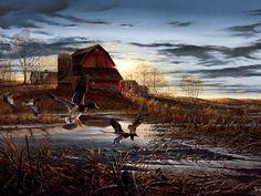 artist terry redlin | Terry Redlin Art ~ Desktop Wallpapers