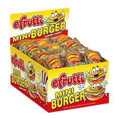 SweetGourmet Gummi Mini Burgers (Original, 1 Box( 60CT)) ...