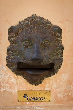 Lion Letter Box by viwehei, via Flickr