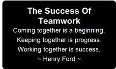 success on team work