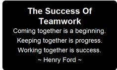 success on team work