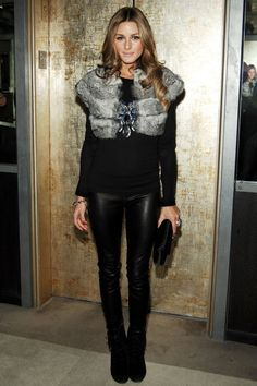 Olivia Palermo, known for her role on The City, has become a style icon to many. It took a while for me to look past her stuck-up attitude on the show and actually grow t… Style Work, Mode Style, Her Style, Olivia Palermo Street Style, Estilo Olivia Palermo, Looks Street Style, Looks Style, Look Fashion, Winter Fashion
