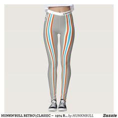 HUNKN'BULL RETRO\CLASSIC   1974 RACING GR\ST\ LEG LEGGINGS : Beautiful #Yoga Pants - #Exercise Leggings and #Running Tights - Health and Training Inspiration - Clothing for #Fitspiration and #Fitspo - #Fitness and #Gym #Inspo - #Motivational #Workout Clothes - Style AND comfort can both be achieved in one perfect pair of unique and creative yoga leggings - workout and exercise pants - and running tights - Each pair of leggings is printed before being sewn allowing for fun designs on every…