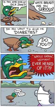 diabetes whole grain joke