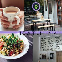 Lunch bowls at Healthinki