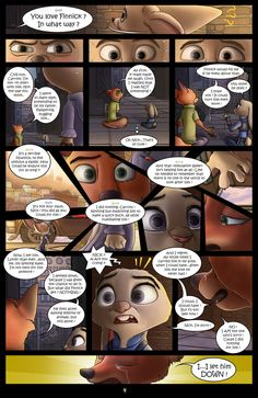 First page of my new Zootopia-related project. NEXT >> The Secret of Finnick, pt.2 It took me long, intense hours of passionate photoshop sessions to come to this result. I know it is not per...