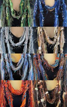 Scarves by Elena on Etsy--Pinned with TreasuryPin.com