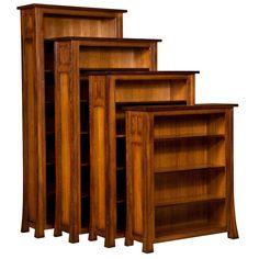 Amish Bridgefort Mission Bookcase | Amish Furniture | Shipshewana Furniture Co.