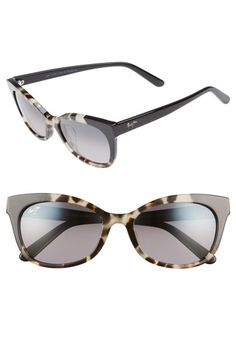 Add a retro-chic element to your everyday style with cat-eye sunglasses featuring glare-reducing polarized lenses and logo-embellished temples. Style Name:Maui Jim Ilima Cat Eye Sunglasses. Style Number: Available in stores. Cat Eye Sunglasses, Sunglasses Women, Maui Jim, Fab Shoes, Retro Chic, Anniversary Sale, Everyday Fashion, Women's Accessories, Ornaments