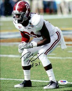Dre Kirkpatrick Autographed 8x10 Photo Alabama Crimson Tide PSA/DNA!