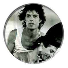 ONLY ONE Rolling Stones Mick Jagger 2-1/4 Inch Button