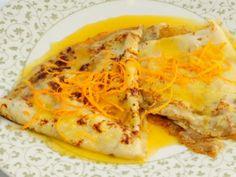 Receta   Crepes Suzette - canalcocina.es