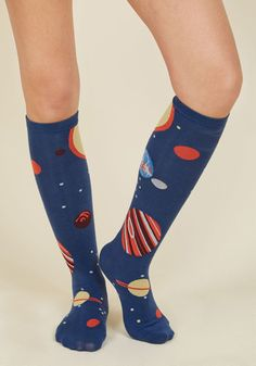Planet of Action Socks