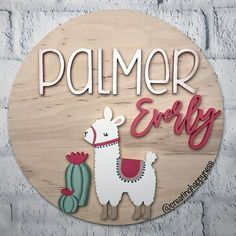 20 Diameter Boho Llama Sign Name Sign Boho Nursery Boho Nursery, Nursery Decor, Baby Decor, Nursery Signs, Nursery Ideas, Mosaic Diy, Mosaic Crafts, Mosaic Tiles, Decoration Star Wars