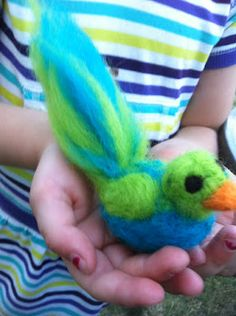 Waldorf toys: Felting projects and Window Stars