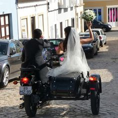 A bike and sidecar from Bike My Side - Amazing!!!