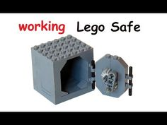 How to build a working Lego Safe - YouTube