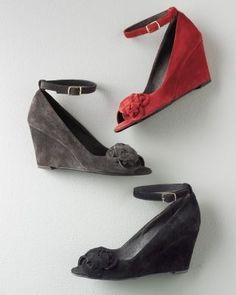 Valentina Suede Wedge Shoes Design works No.1763  2013 Fashion High Heels 