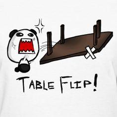 Epic panda table flip Table Flip, Flipping, Panda, Pandas, Panda Bear, Panda Bears