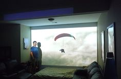 A 1080p projector will change how you watch TV. | 30 Life-Changing Things That Are Worth Every Penny